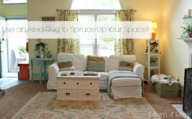Use Area Rugs on Carpet to Spruce Up Your Space