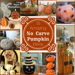 10 No Carve Pumpkin Ideas – Primp Your Pumpkin 2 Features!