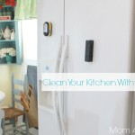Sanitize & Clean Your Kitchen The Easy Way ~ Natural Cleaning Tip