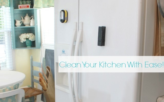 Sanitize & Clean Your Kitchen The Easy Way