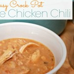Easy-Crock-Pot-White-Chicken-Chili at Mom 4 Real