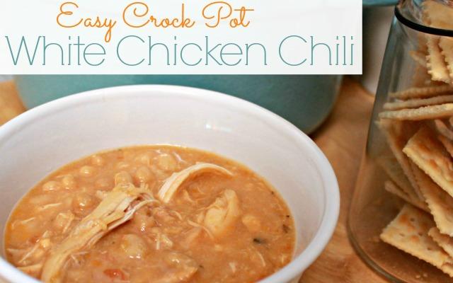 Easy Crock Pot White Chicken Chili Mom 4 Real