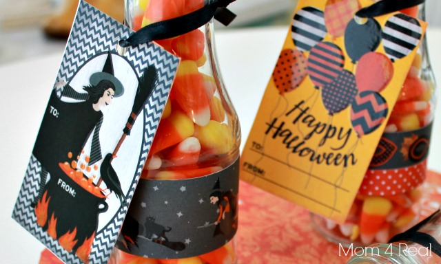 Halloween Treats in a Bottle