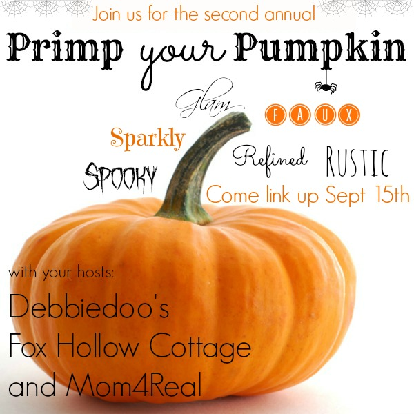 Primp Your Pumpkin Party - Share Your Decorated Pumpkins