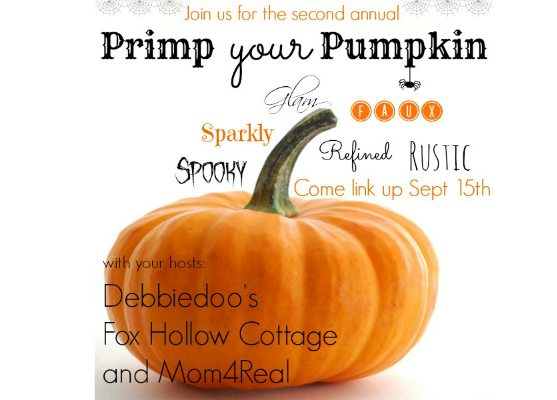 Primp Your Pumpkin - Pumpkin Decorating Party - Come Share Your Pumkins!