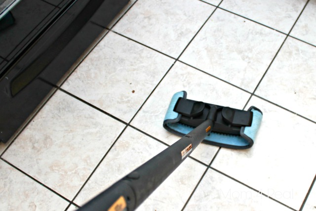 Steam Clean Your Kitchen Floor with Homeright