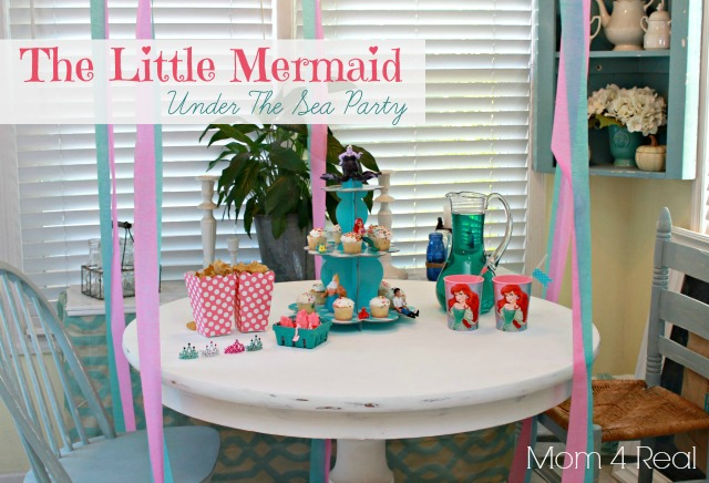 The Little Mermaid Under The Sea Party