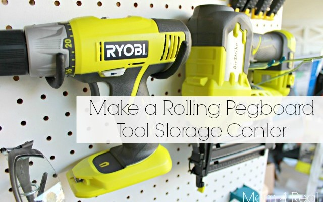Make Your Own Portable Tool Storage / Organization Caddy