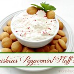 Christmas Peppermint Fluff Dip