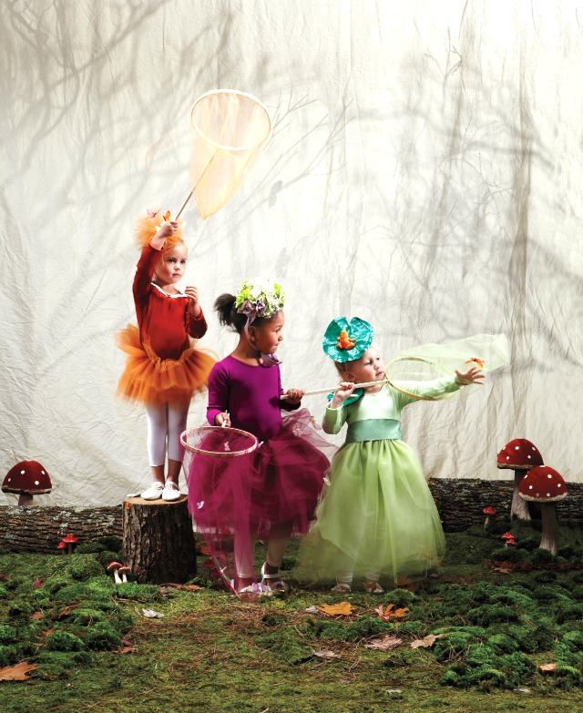 DIY Woodland Sprite / Fairy Costume with Martha Stewart Halloween