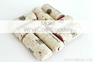 Make Wine Cork Coasters – Tutorial