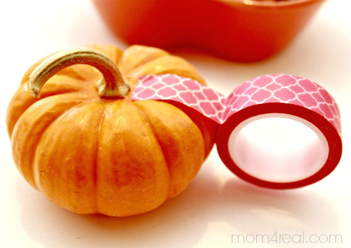 Make a Washi Tape Pumpkin