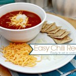 Super Easy Chili Recipe - Ready to eat in under 15 minutes!