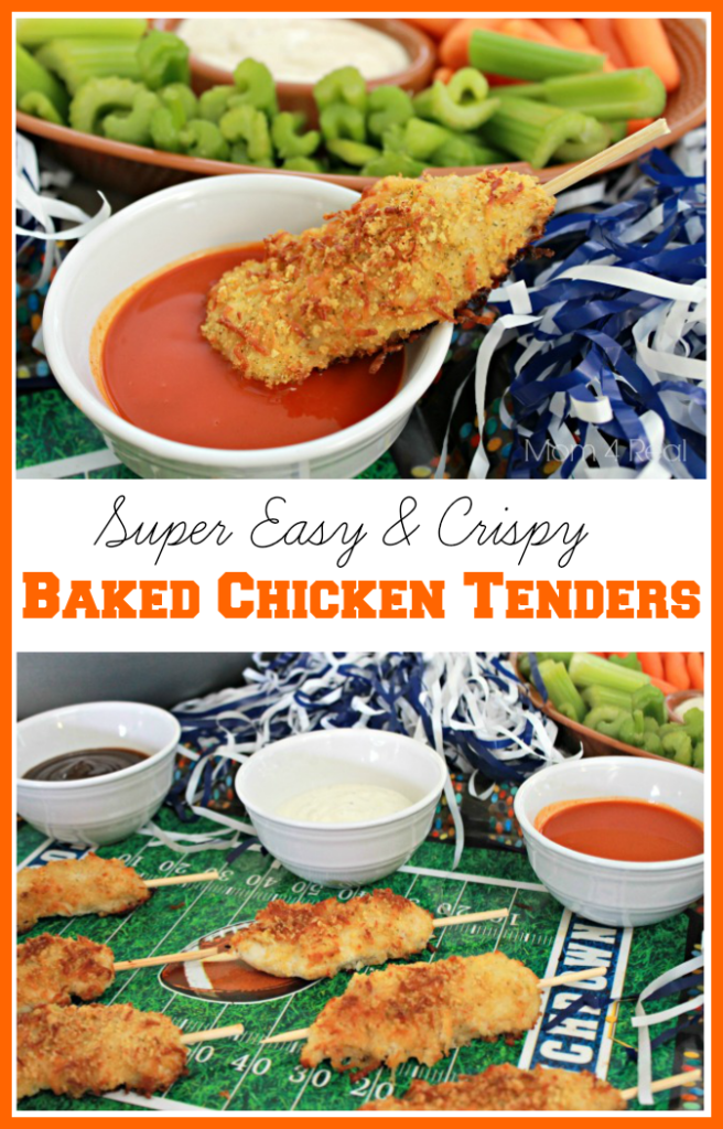 Super Easy and Crispy Baked Chicken Tenders