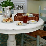 Breakfast Nook Makeover Using Thrifted Finds