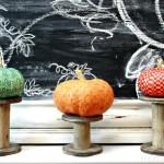 Make a Washi Tape Pumpkin