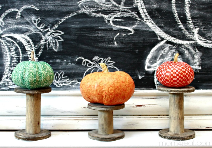 Washi Tape Pumpkins from Mom4Real.com