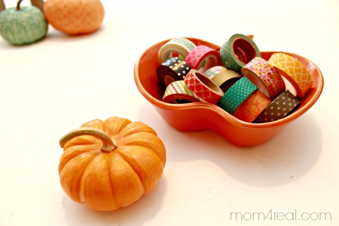 Washi Tape and Pumpkin