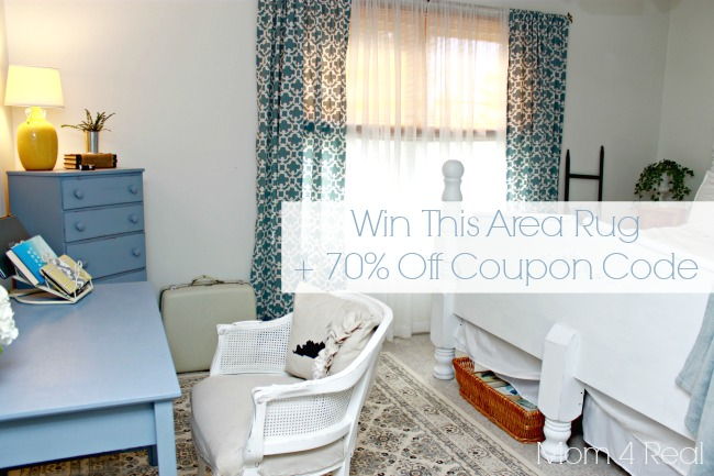 Win a Beautiful Rug & a 70% Off Coupon