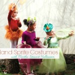 Woodland Sprite Costumes with Martha Stewart Halloween