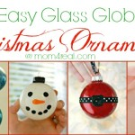 7 Easy Glass Globe Christmas Ornament Ideas!