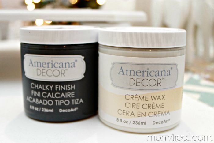 American Decor Chalky Paint and Creme Wax