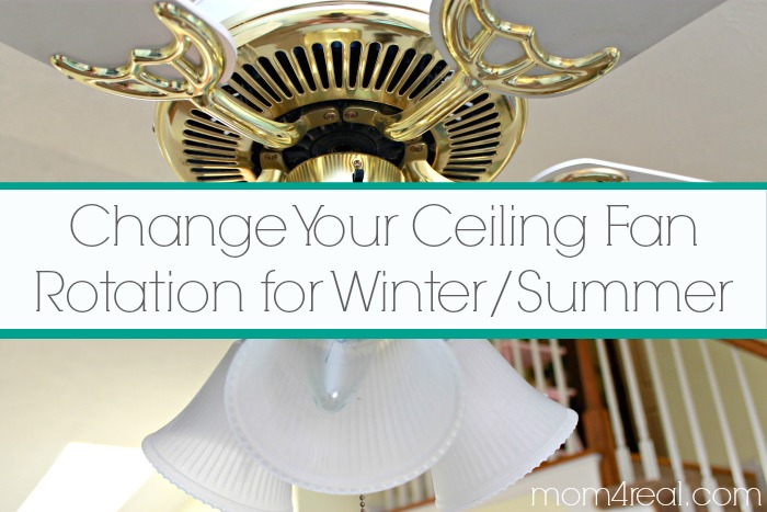 Change Ceiling Fan Direction in Winter / Summer and Save ...
