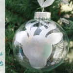 Simple Silver Leaf Glass Christmas Ornaments & A Giveaway!