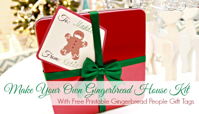 Diy Gingerbread House Kit Free Gingerbread People