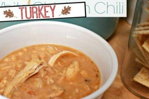 Crock Pot Turkey Chili - Leftover Turkey Recipe