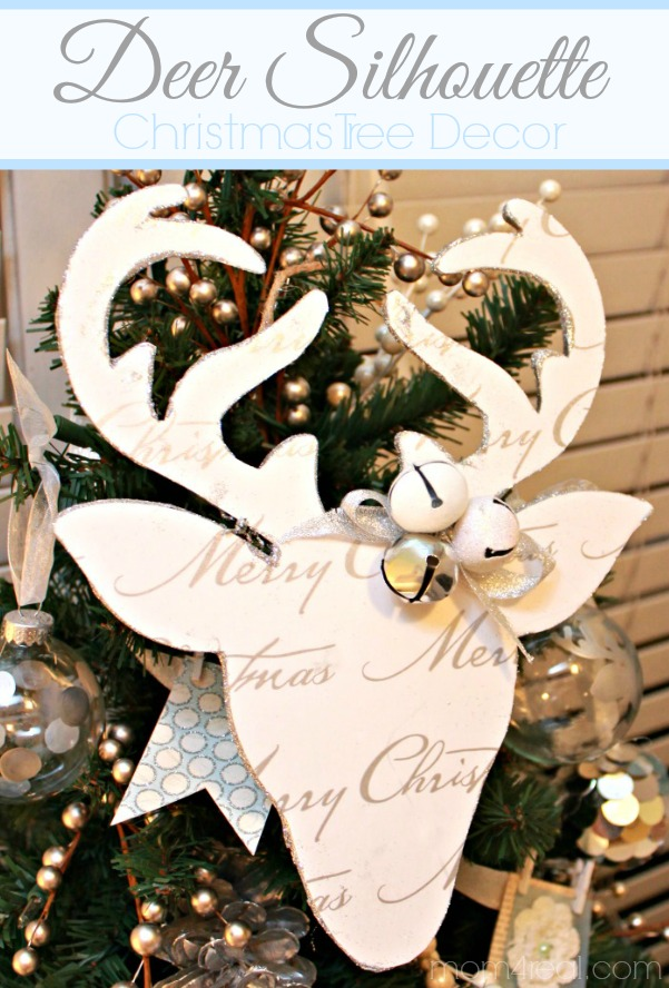 Deer Silhouette Christmas Decor