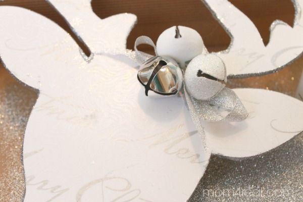 Deer Silhouette with Bells