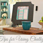 Easy Tips for Using Chalky Paint ~ 5 Projects