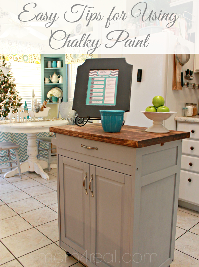 Easy Tips for Using Chalky Paint