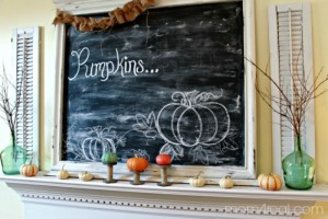 Simple Ways to Create Fall Vignettes