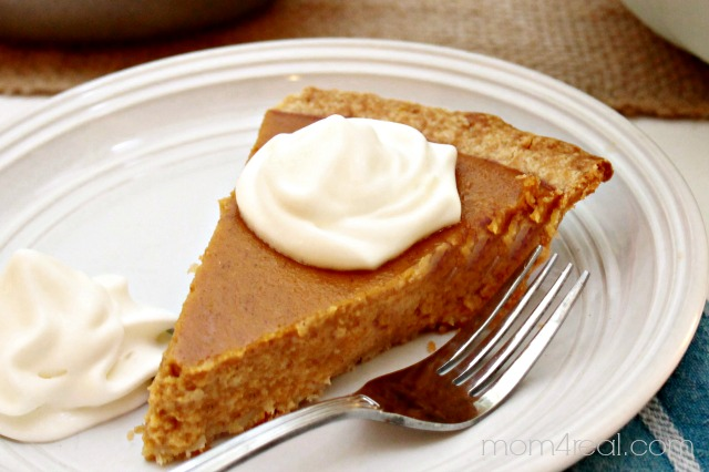 Homemade Pumpkin Pie Recipe