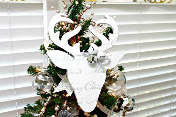 Make a Deer Silhouette Christmas Ornament