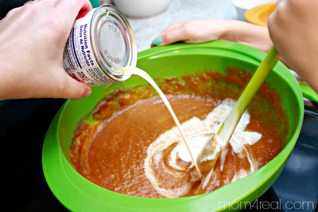 Make a pumpkin pie from scratch
