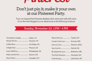 A Michaels Pinterest Party!