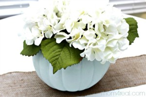 Paint-a-foam-pumpkin-and-turn-it-into-a-planter-or-vase