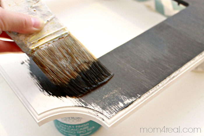 Painting with Chalky Paint
