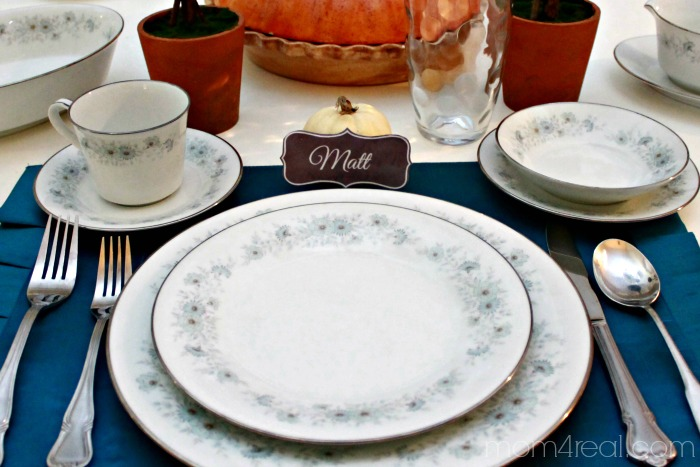 Printable Placecards Tutorial
