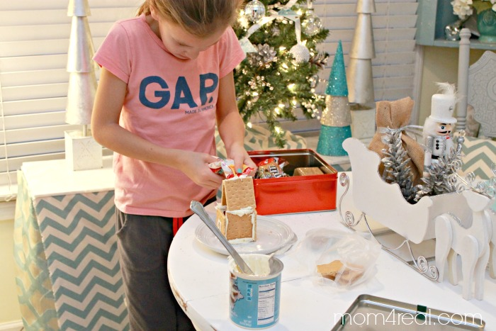 Put together a Gingerbread House Kit #shop