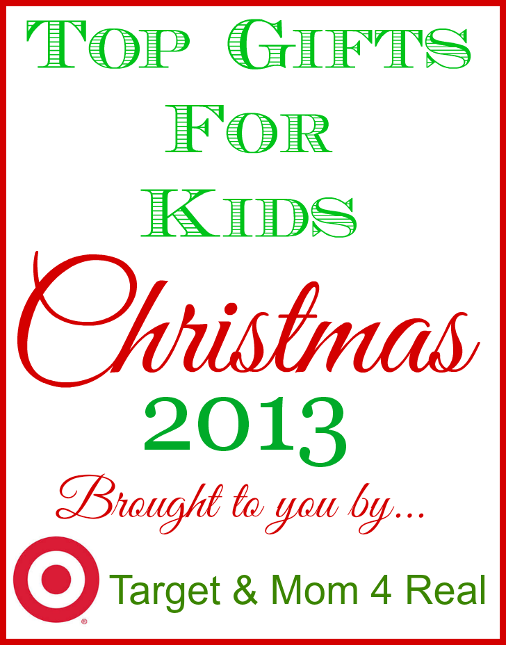 Great Christmas Gifts For Mom Part - 33: Top Gifts For Kids Christmas 2013 Brought To You By Target And Mom 4 Real