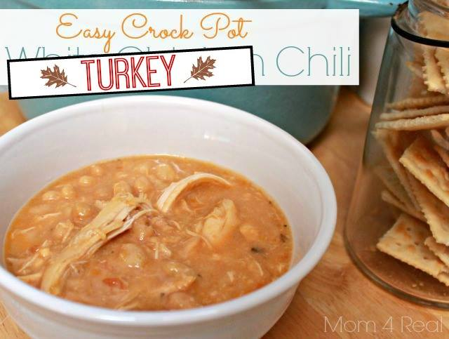 Crock Pot Turkey Chili - A Leftover Turkey Recipe