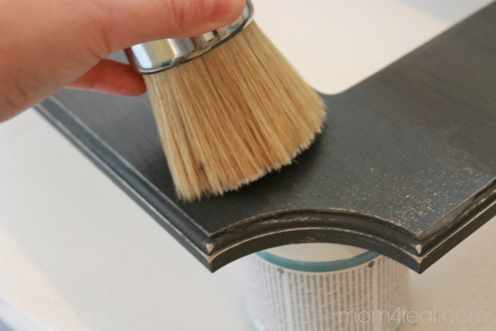Using Creme Wax and Chalky Paint