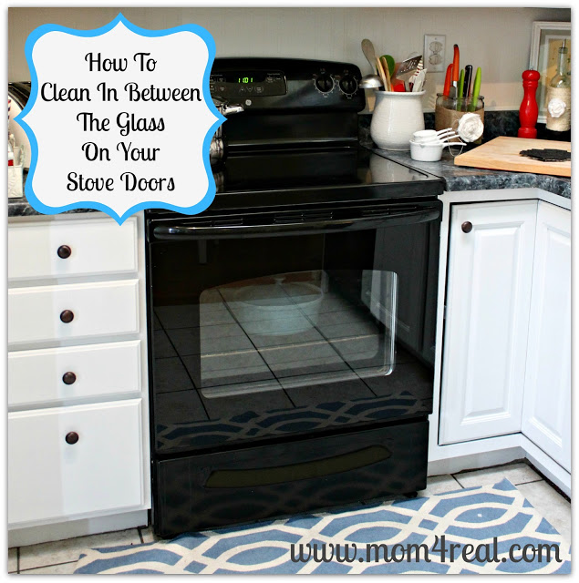 Clean In Between The Glass on Your Oven Door