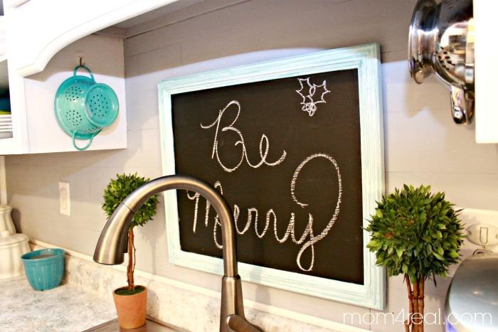 Be Merry Chalkboard