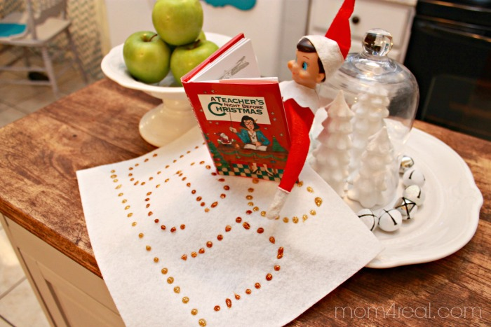 Elf On The Shelf Blanket Gift - A Fun Idea