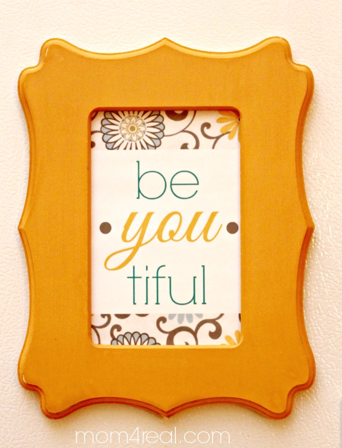 Framed Be-you-tiful Printable
